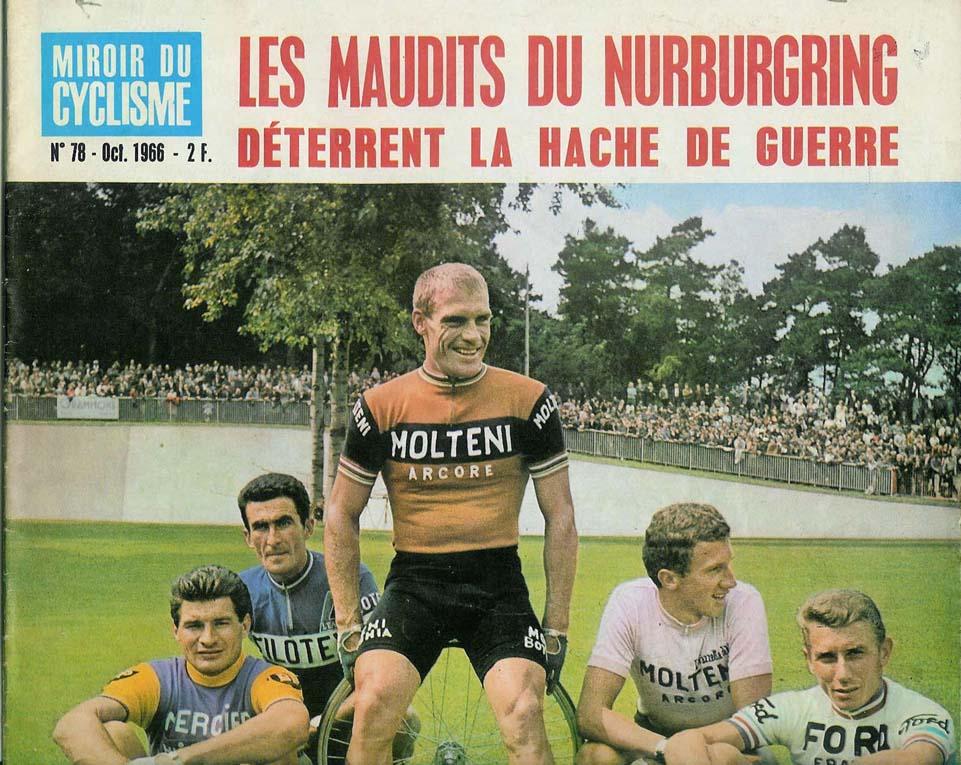 Pbp 1966 baumann 39 s view issue cover for Miroir du ciclisme